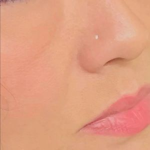 Teeny Tiny Sterling Silver Nose Stud